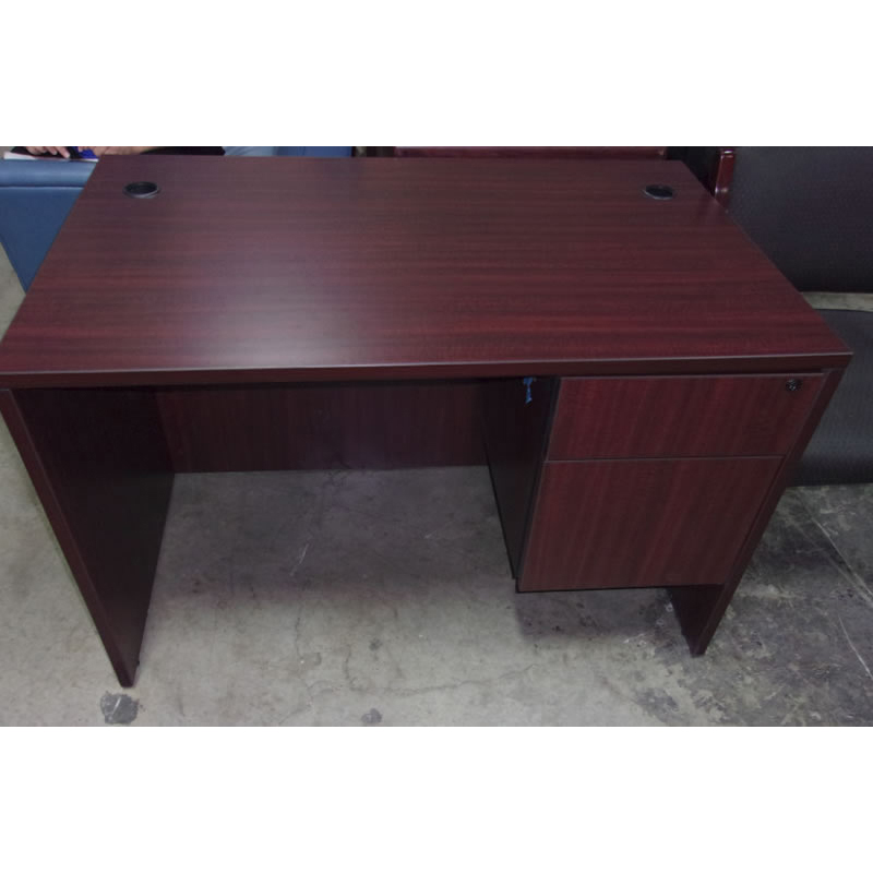 Mahogany Laminate Desk