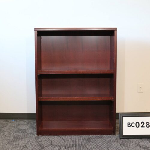 Picture of cherry wood bookcase for sale at Monarch Office Furniture