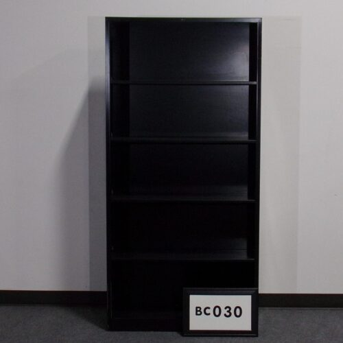 Used black bookcase for sale at Monarch Office Furniture