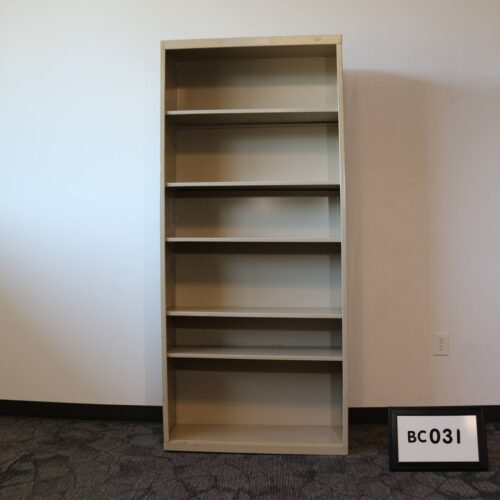 Picture of used metal bookcase for sale at Monarch Office Furniture
