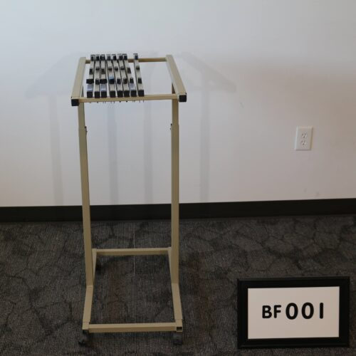 Picture of a used blueprint file rack for sale at Monarch Office Furniture