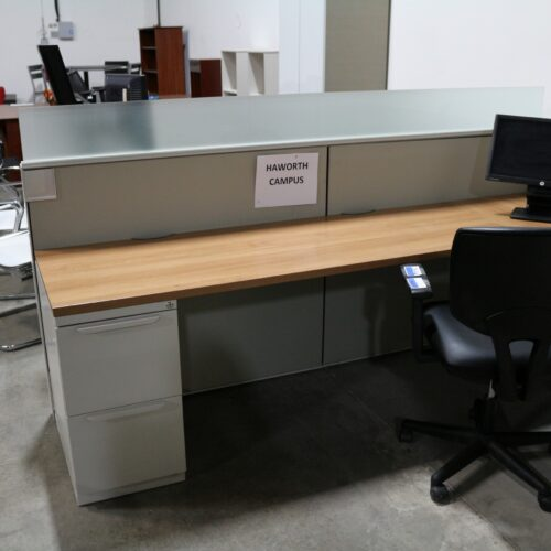 Picture of used Haworth campus cubicles for sale at Monarch Office Furniture