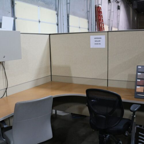 Picture of used Herman Miller Vivo cubicles for sale at Monarch Office Furniture