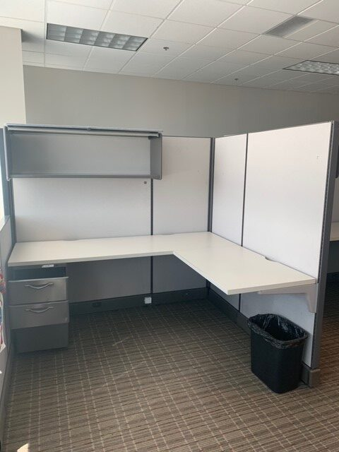 Picture of used Herman Miller AO2 cubicles for sale at Monarch Office Furniture