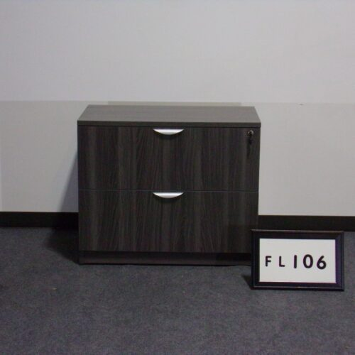 Picture of gray laminate 2-drawer lateral file for sale at Monarch Office Furniture